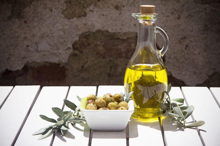 El aceite de oliva es bueno para las arterias y el corazón