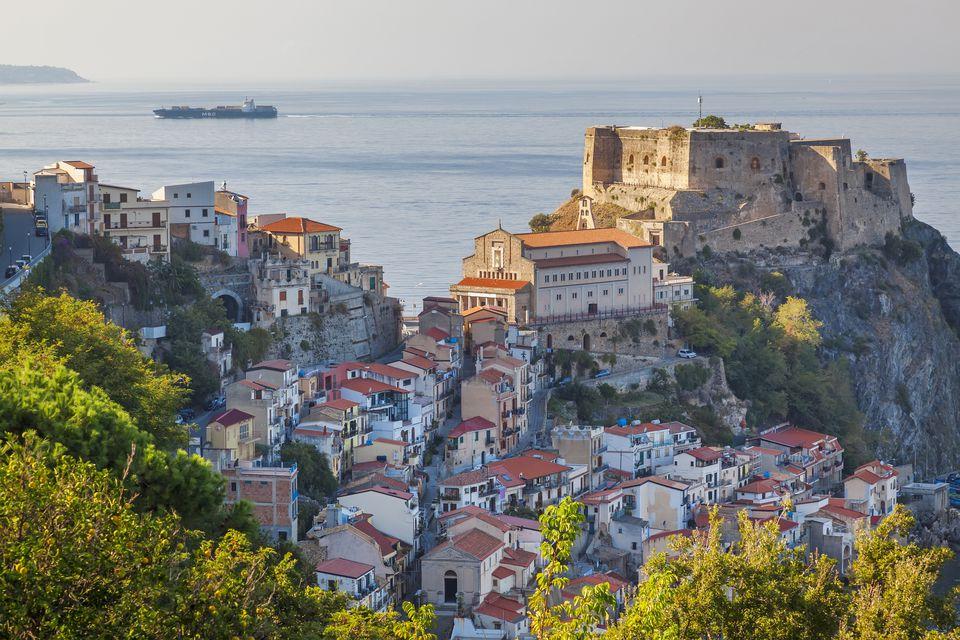 A village in Calabria.