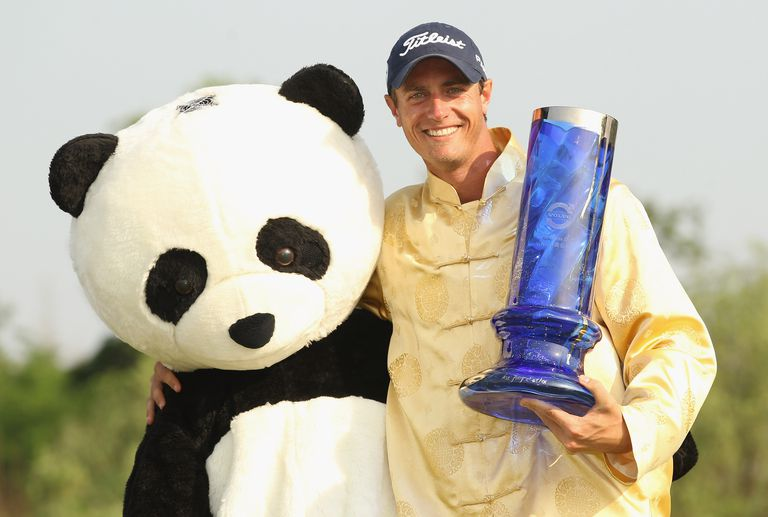 Nicolas Colsaerts, winner of the 2011 Volvo China Open