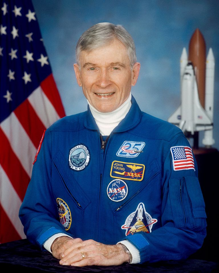John W. Young, astronaut