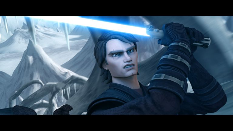 Anakin Skywalker in 'Star Wars: The Clone Wars'