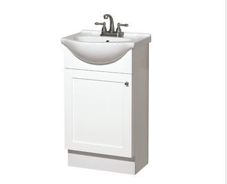 Lowes Style Selections 20 Inch White Vanity Unit with Top