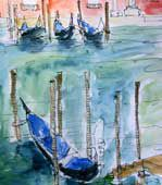 Plein air painting in Venice