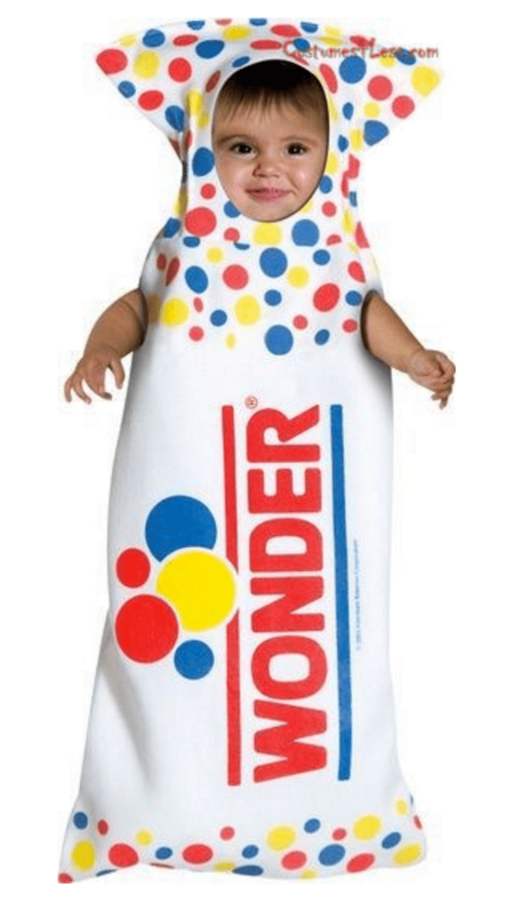 rasta imposta wonder bread bunting infant halloween costume