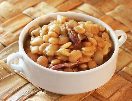 Crock Pot Ham Hocks And Lima Beans Recipe