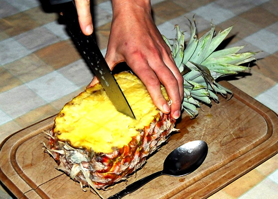 how to make cut pineapple sweeter