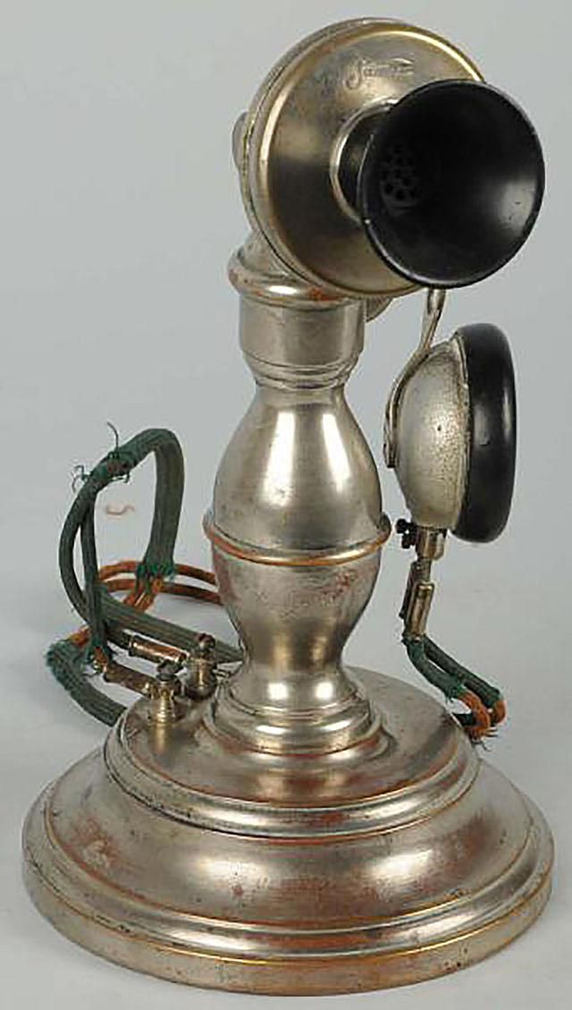 Antique Pot Belly Telephone, ca. 1900, Sold at Morphy Auctions in June, 2012 for $4,200