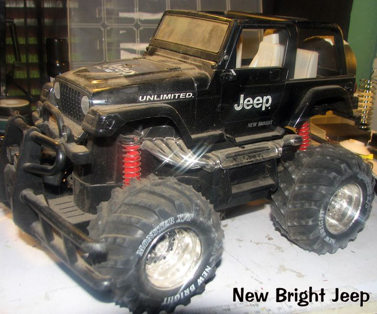 Radio Controlled Toy New Bright Jeep