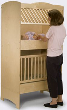 Double Decker Crib for Twins