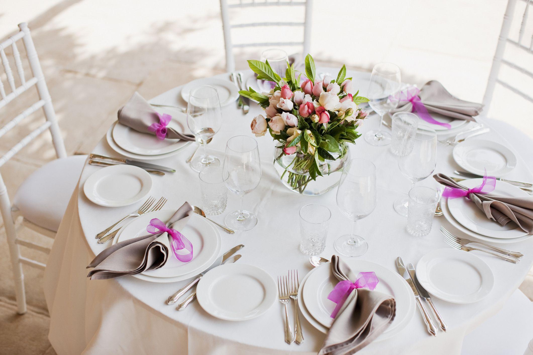 Украсить стол на свадьбу в домашних условиях фото