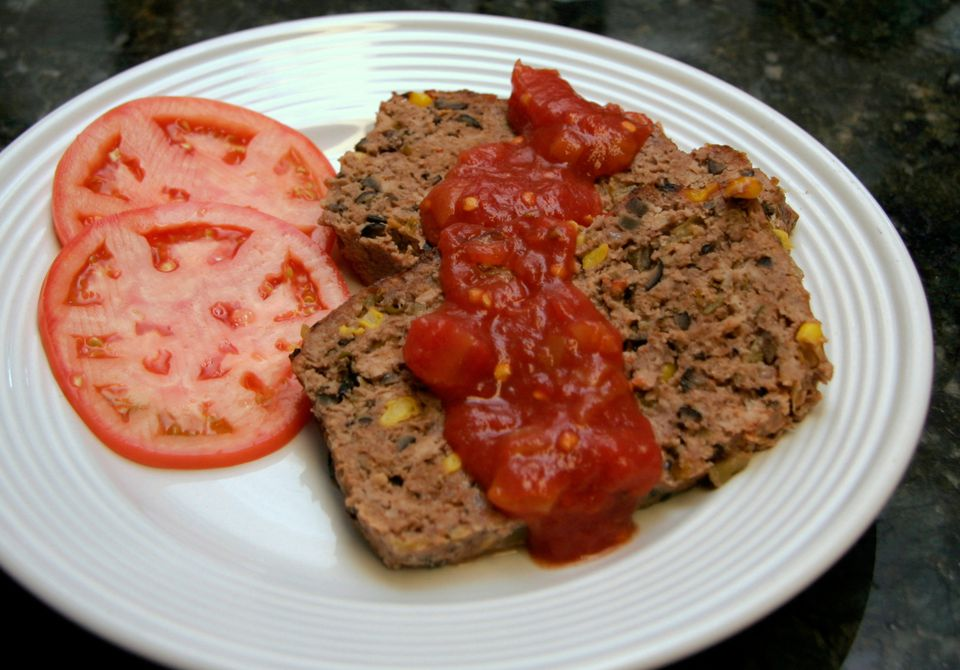 Southwestern-Style Meat Loaf