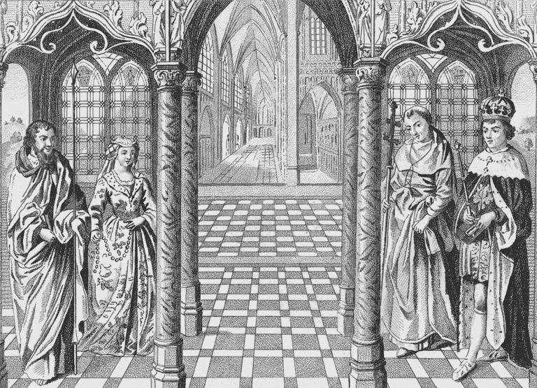 Elizabeth of York Marries Henry Tudor