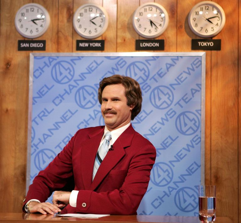 A picture of Anchorman's Ron Burgundy
