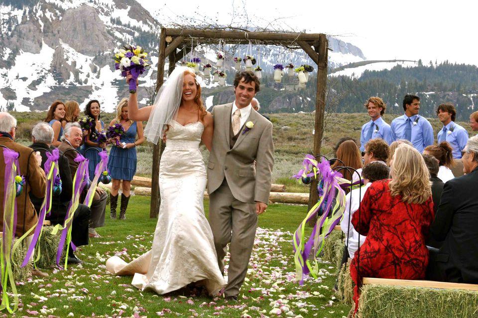 The Outdoor Wedding Dress