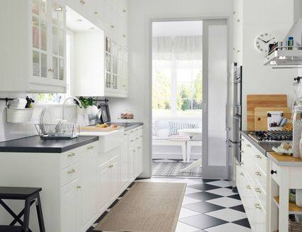 ikea gray cabinet kitchen shelving and cabinets beautiful subway white neutral with pin open tile
