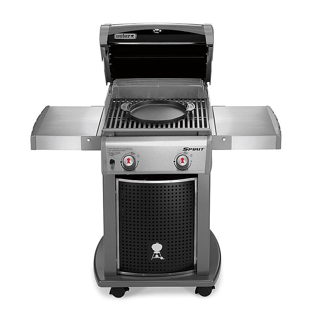 Weber spirit e 210 gourmet bbq system gas grill review for Housse barbecue weber spirit