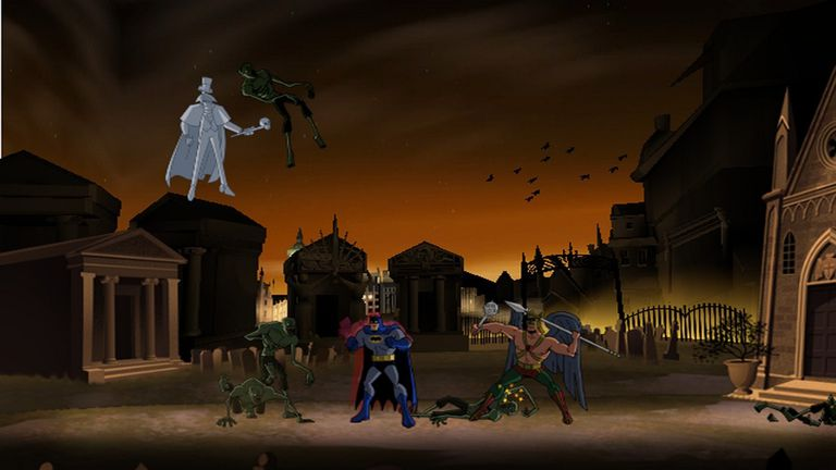 Screen from Batman: The Brave and the Bold