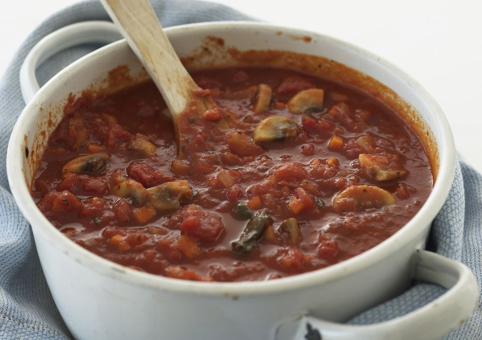Spaghetti Sauce With Vegetables