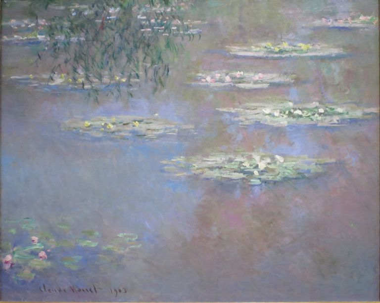 Claude Monet Nenufares