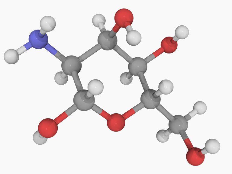 Glucosamine molecule