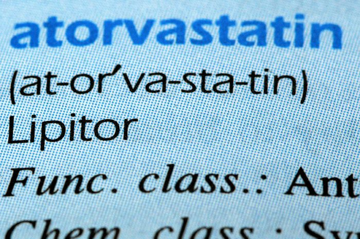Atorvastatin is the generic form of lipitor.