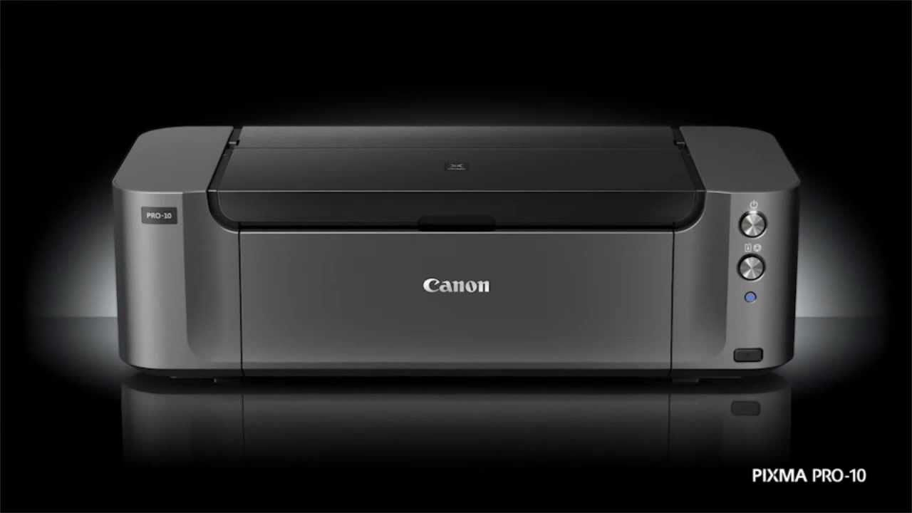 canon pixma pro 10 professional photograph printer. Black Bedroom Furniture Sets. Home Design Ideas
