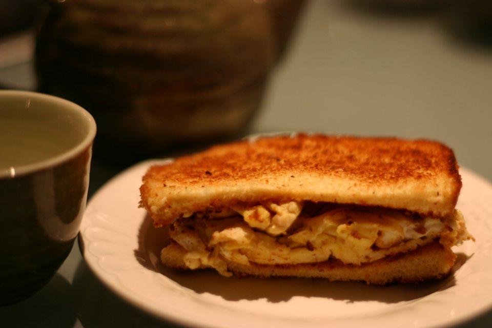korean egg toast