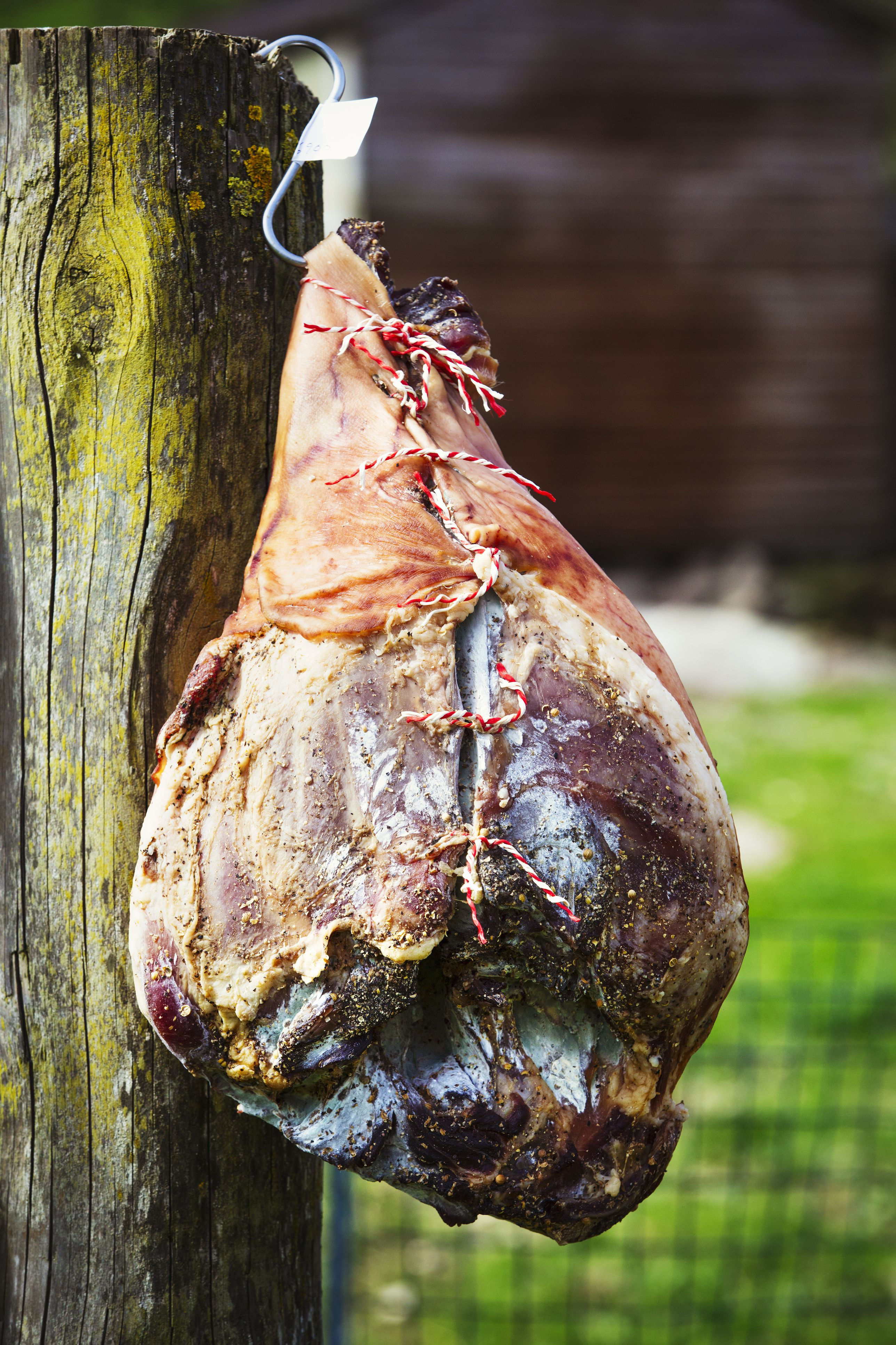 how to cure a country ham at home