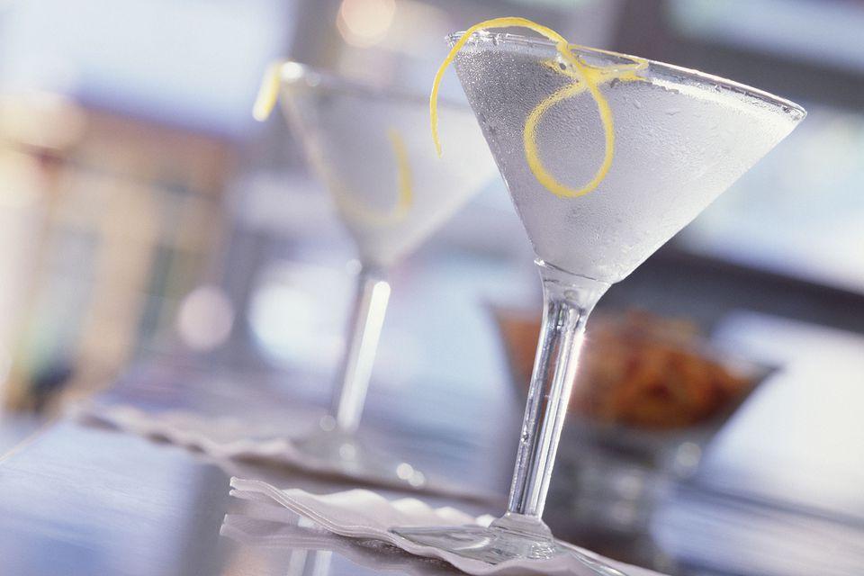 Vodka martinis