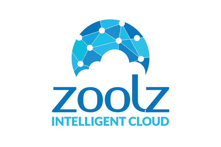 Screenshot of the Zoolz Intelligent Cloud logo