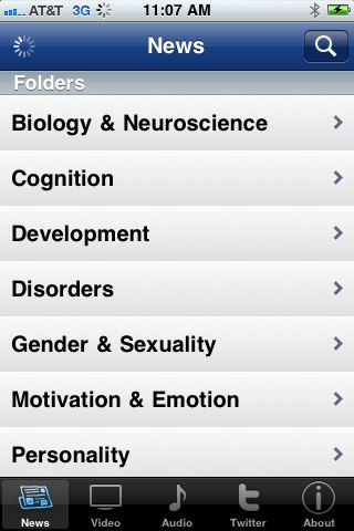 PsycExplorer app