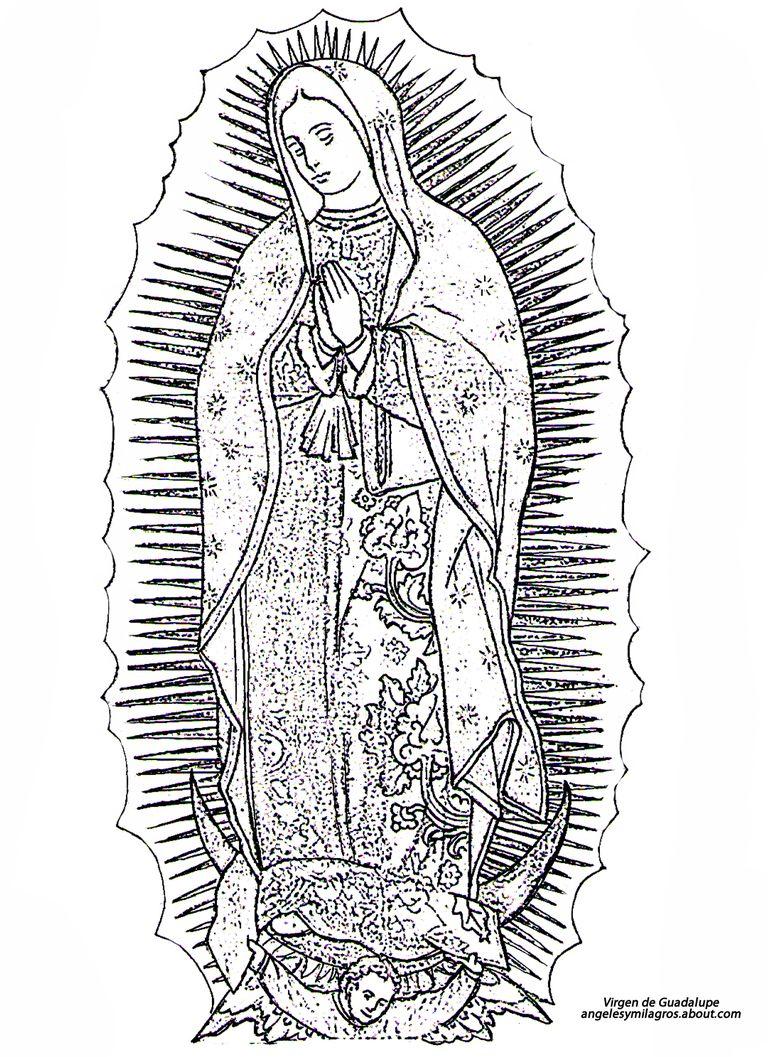 Imgenes de la Virgen de Guadalupe