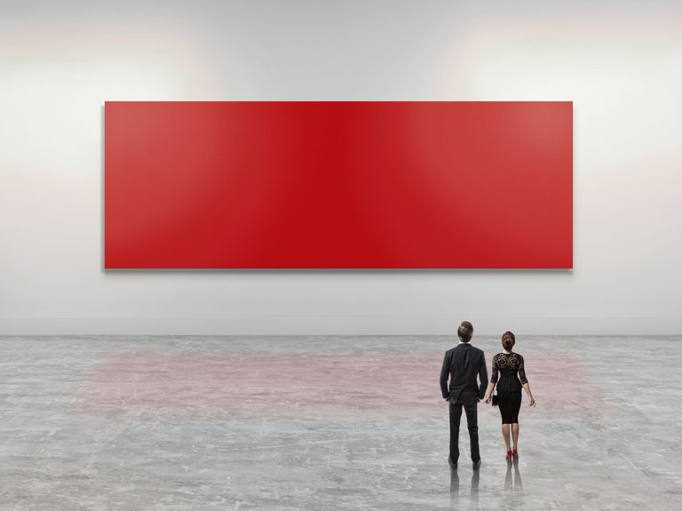 A Red Canvas
