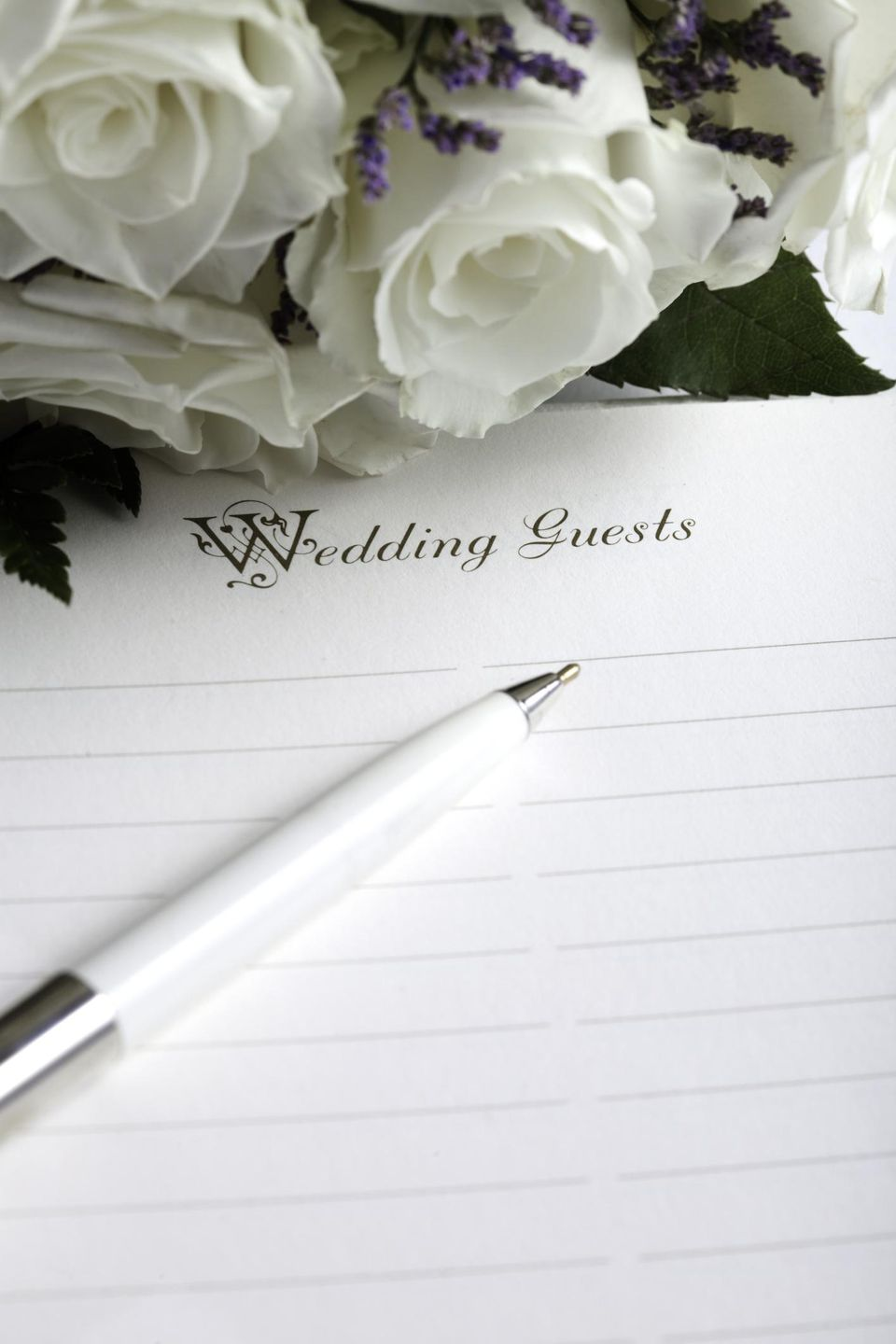 Wedding List and Flowers