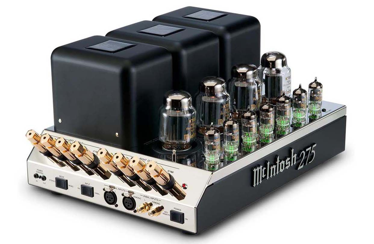 McIntosh Labs Model 275 2-Channel Vacuum Tube Power Amp