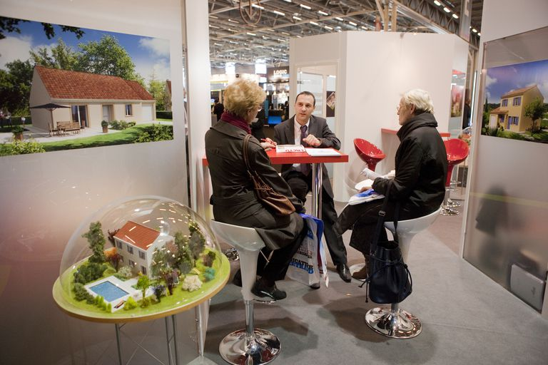 France, Paris real estate exhibition 2010