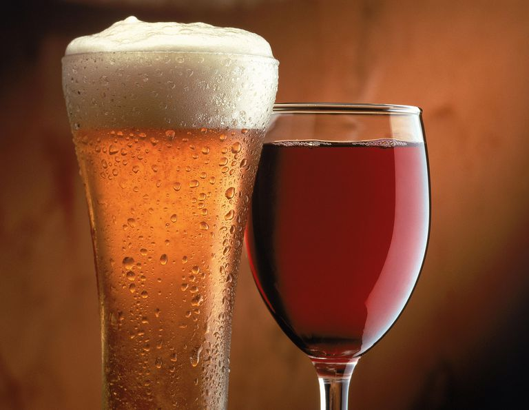 Image result for Beer and wine