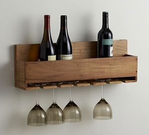 Free Wine Rack Plan from The House of Wood