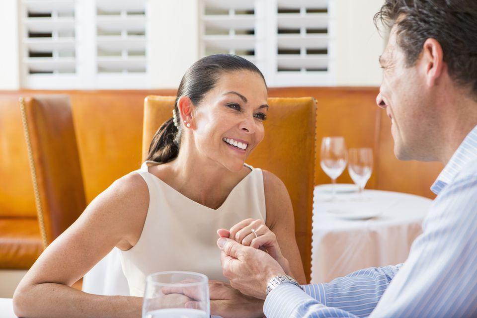 Married Couple Talking