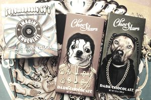 Music and rock themed chocolates and candy