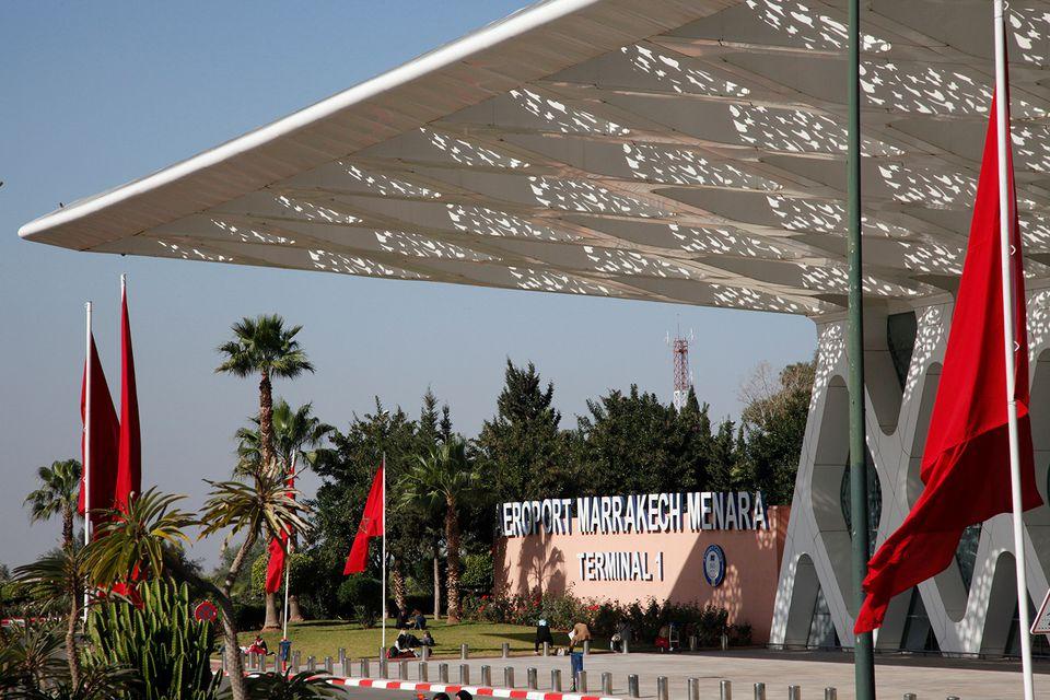 Airport, Marrakech, Morocco