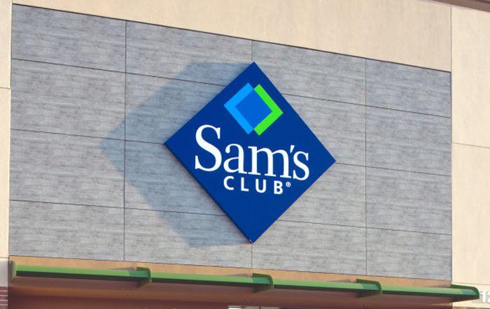 Sam's Club Logo On Store