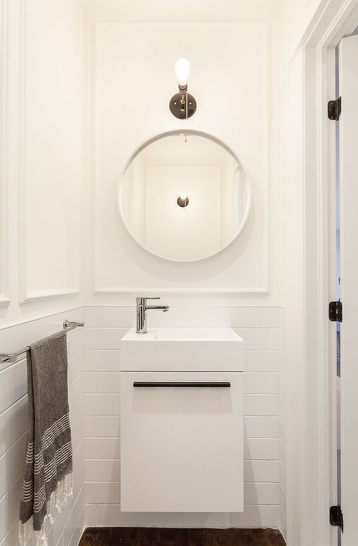 double vanity sinks for small bathrooms. 9 Scaled Down Vanities That Are Perfect for Small Bathrooms Genius Sinks Options