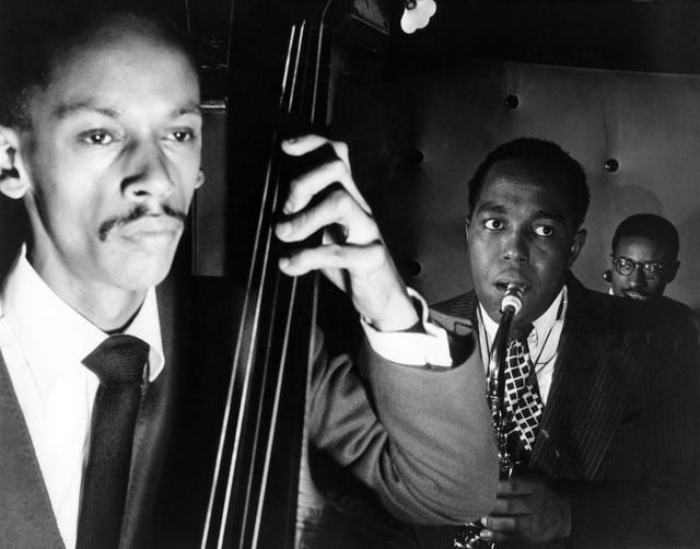 Max ROACH and Tommy POTTER and Charlie PARKER
