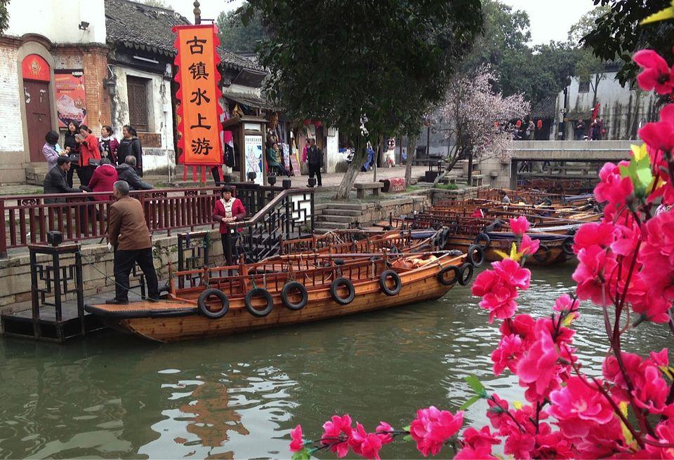 Suzhou China Tongli Canal Gondolas