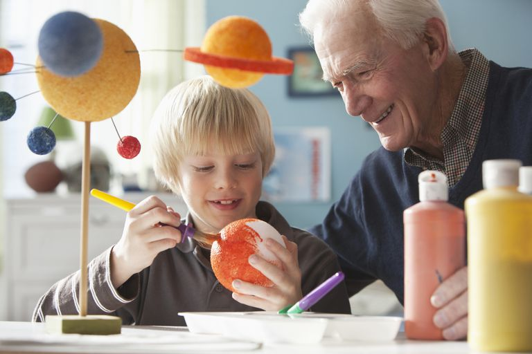 Science projects usually involve help from parents, teachers, and other adults.