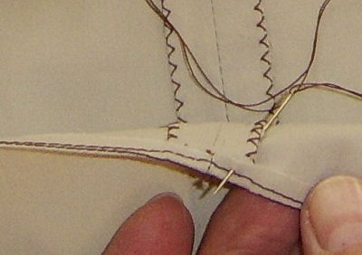 Hand Sewing a Slip-Stitch