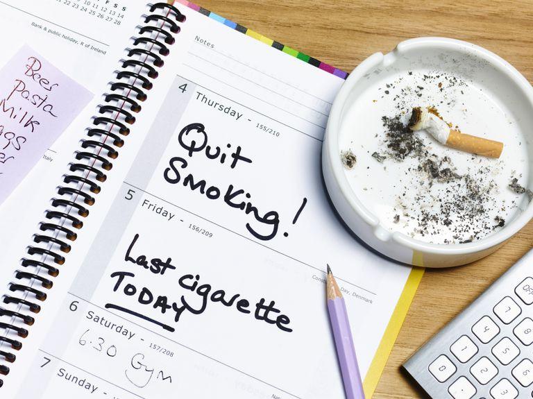 quit smoking diary