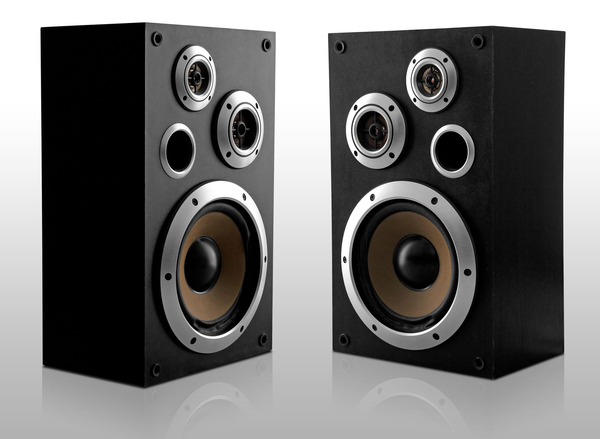 Uncategorized What Is The Best Way To Clean Flat Screen Tv how to clean a flat screen tv pair of stereo speakers with exposed speaker cones turned slightly inwards