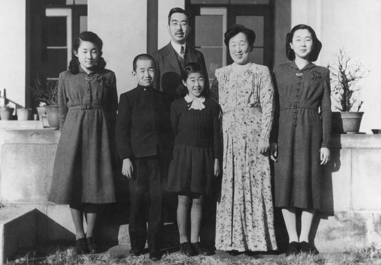 Emperor Hirohito And Family